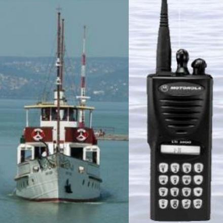 A hajózási VHF információs csatorna és BALATRÖNK UHF rádiórendszer összehasonlítása