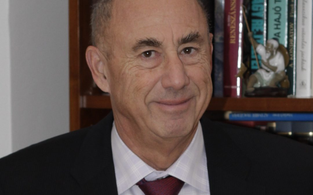 Jamrik Péter a NOVOFER Zrt. elnöke elismerésben részesült